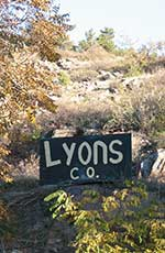 Lyons, CO sign