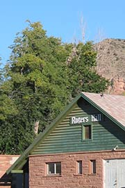 Rogers Hall in Lyons, CO